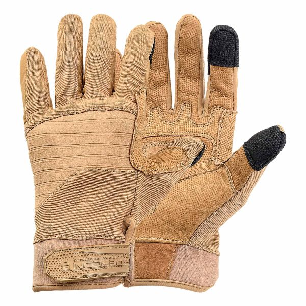 Defcon 5 Gloves Armor-Tex coyote