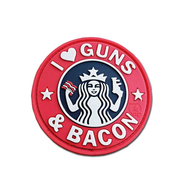 3D Patch JTG Guns and Bacon full color