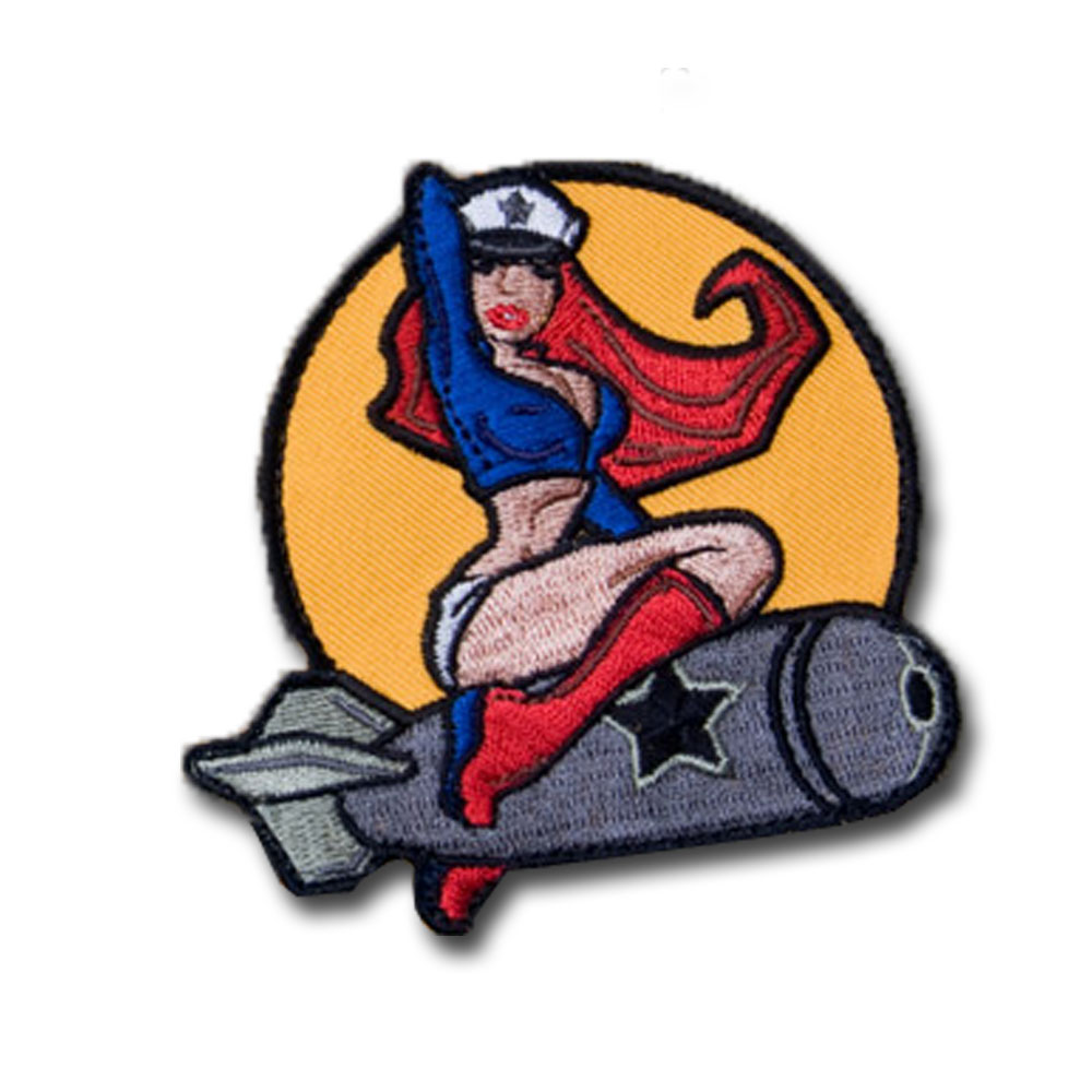 MilSpecMonkey Patch Pinup Girl full color