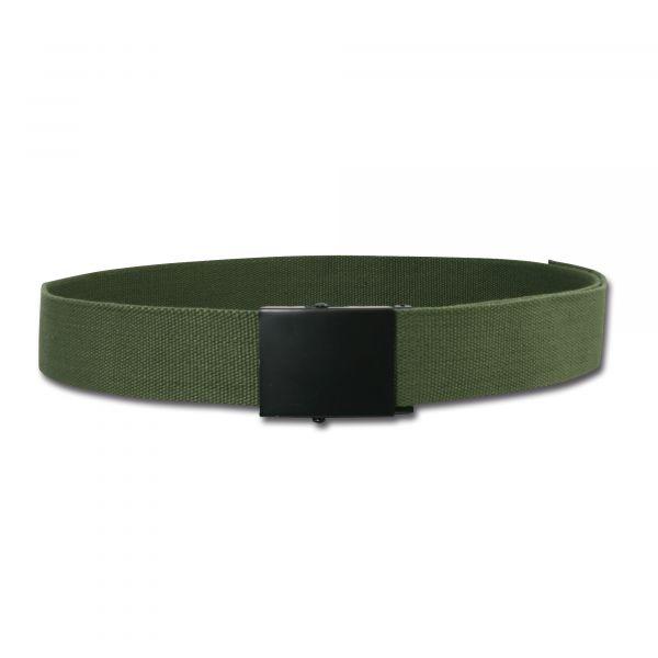 Web Belt Wide olive green
