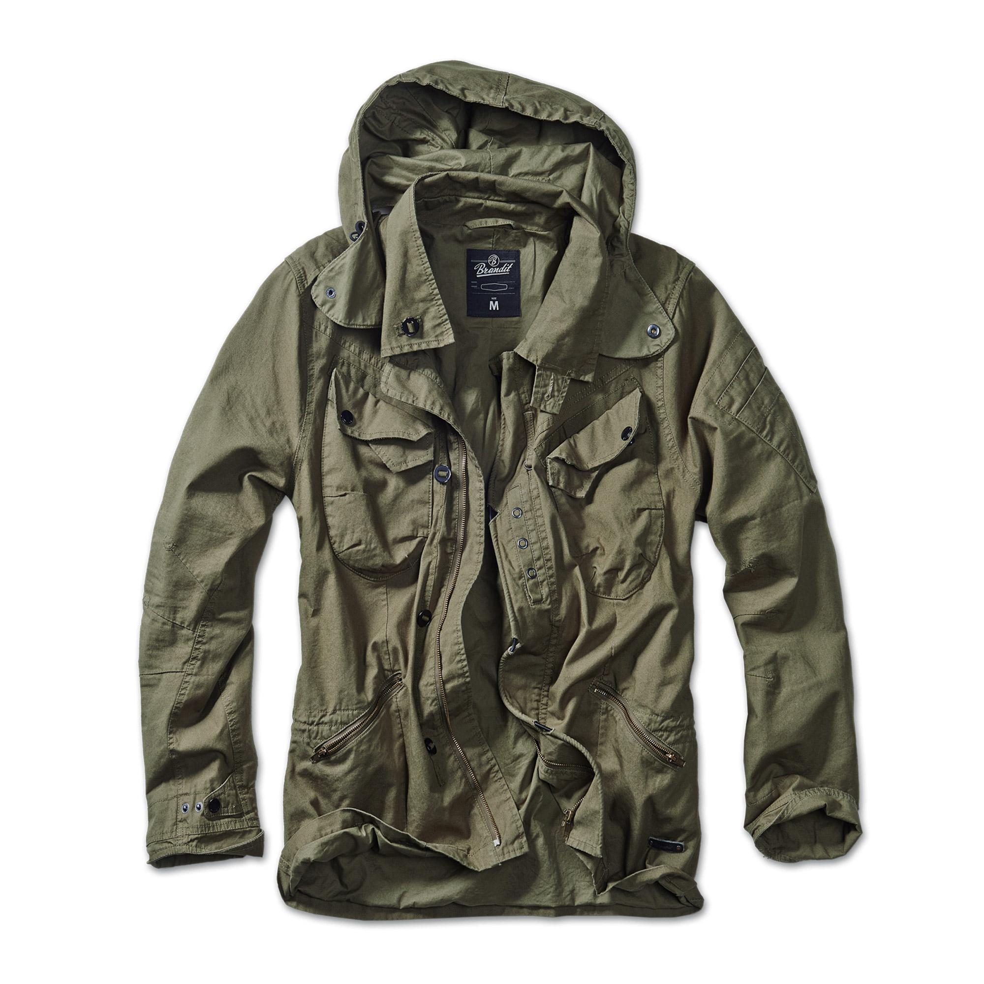 Jacket Brandit Byron, olive