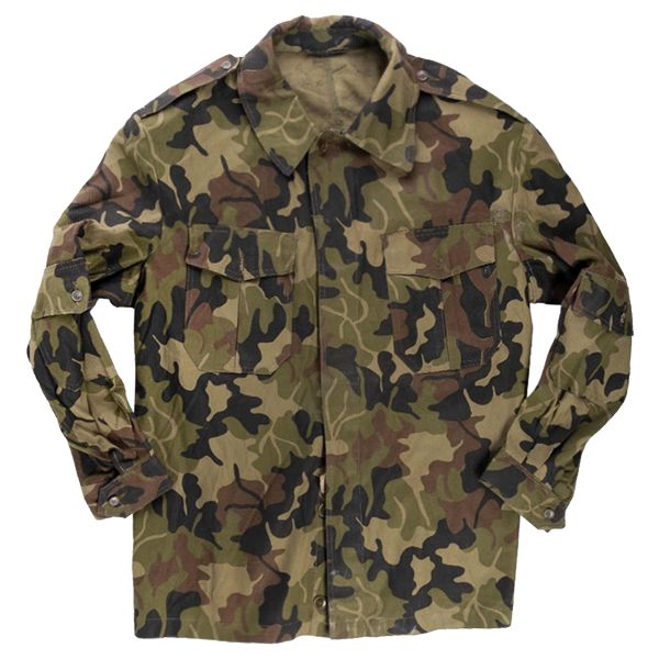 Used Romanian Army Field Jacket camouflage