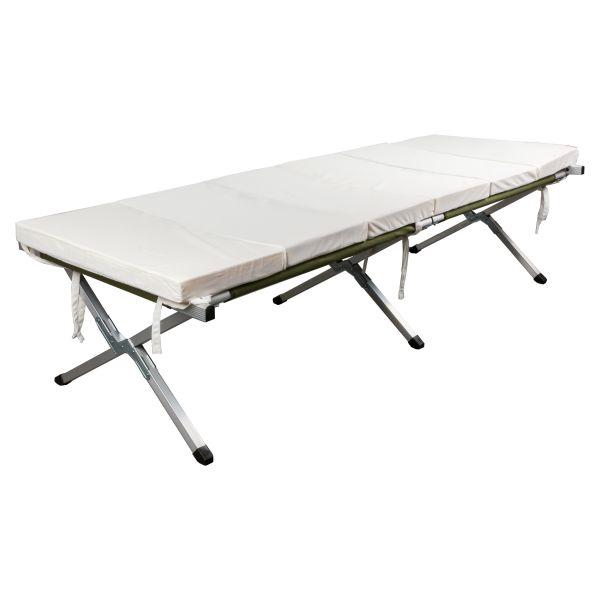 British Folding Field Bed Mattress Type 1 Like New khaki