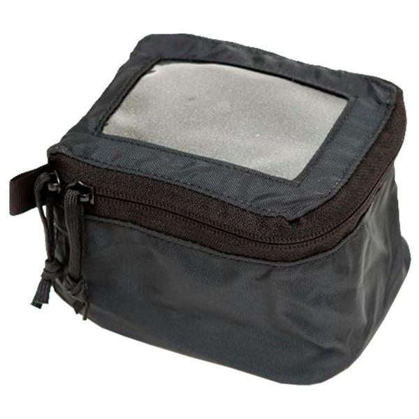 LBX Small Window Velcro Pouch black