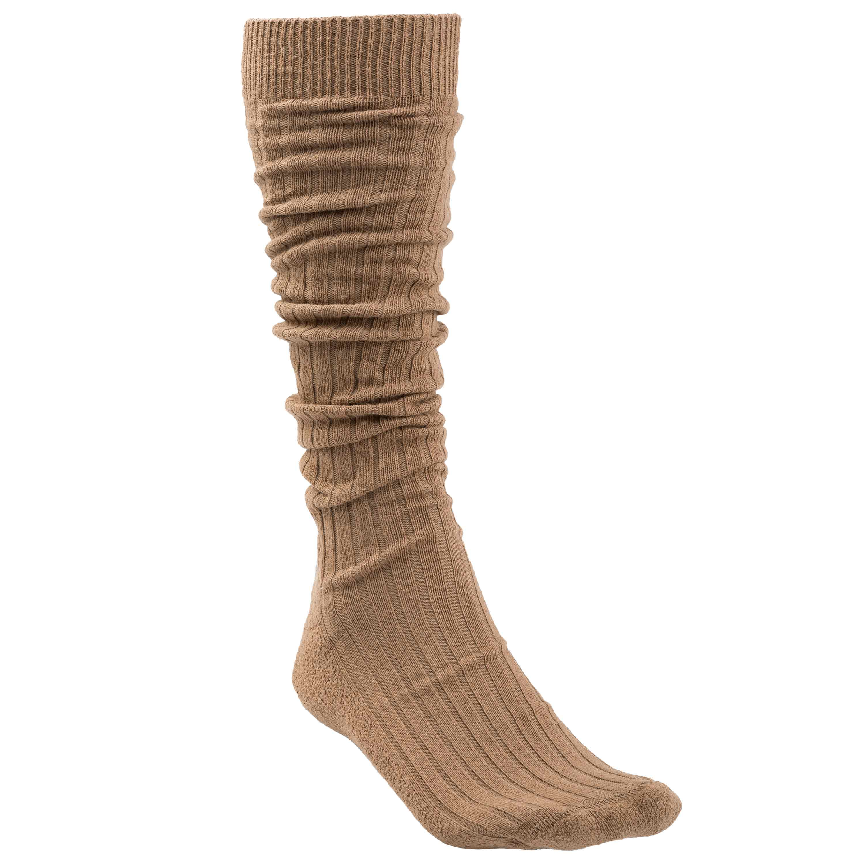 Used BW Tropical Long Boot Socks brown