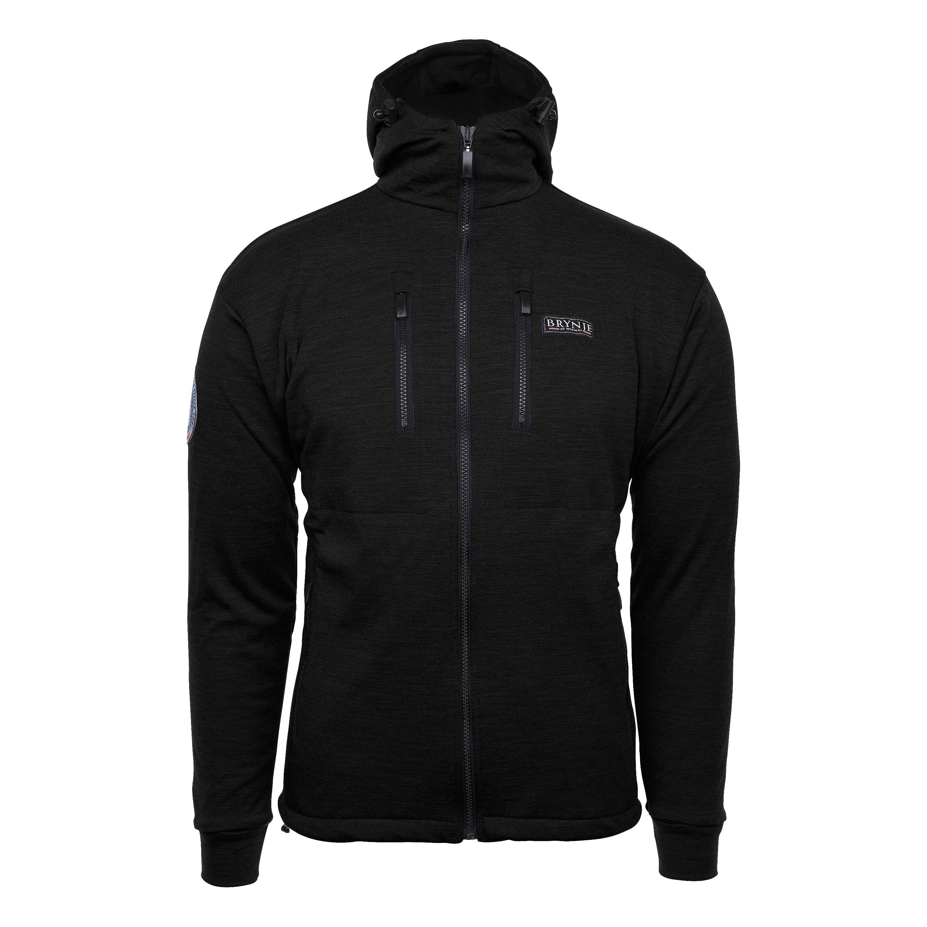 Brynje Jacket Antarctic Hooded black