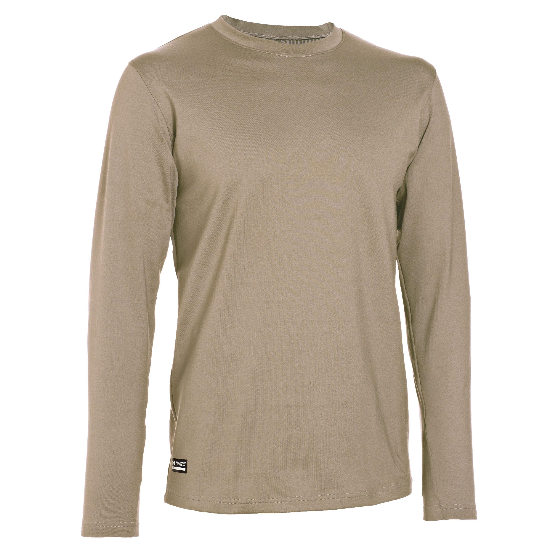 Under Armour Long Arm Shirt Tactical Infrared CG Crew sand