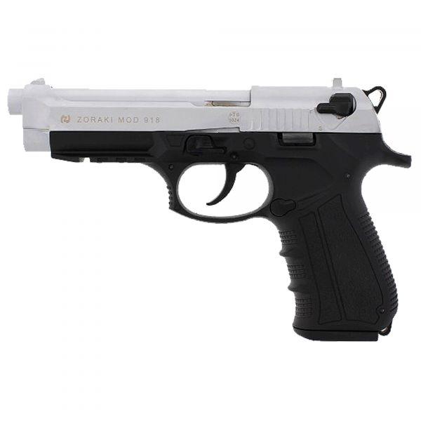 Zoraki Blank Pistol 918 chrome mat