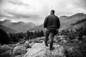 Polaire dans les Alpes