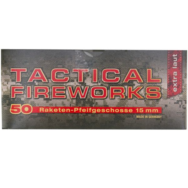 Tactical Fireworks Whistle Cartridge