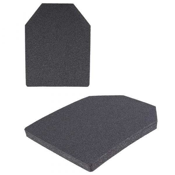 Mil-Tec Dummy Plates 2 Plate Set black