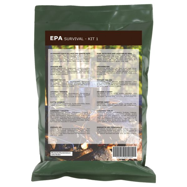 Ration EPA Survival-Kit 1