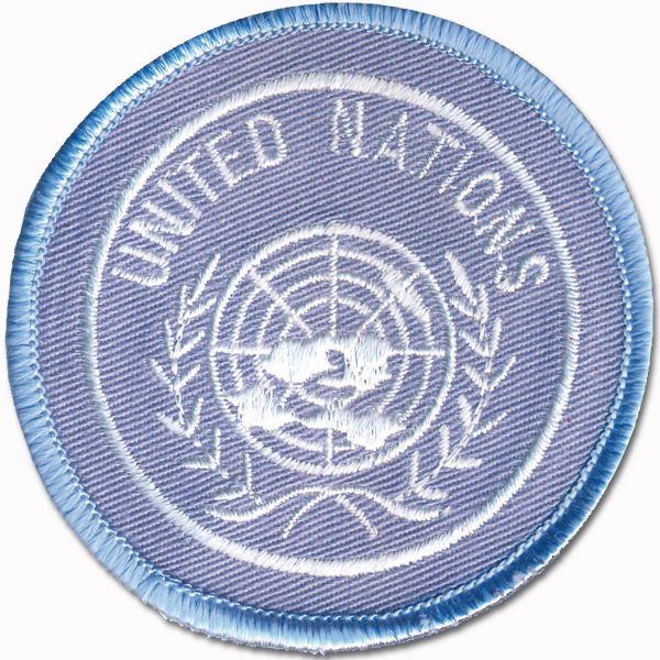 Beret insignia UN textile