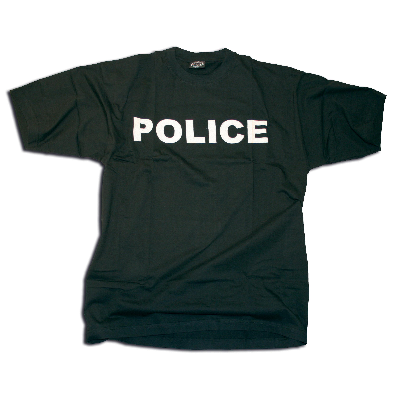 T-Shirt POLICE black