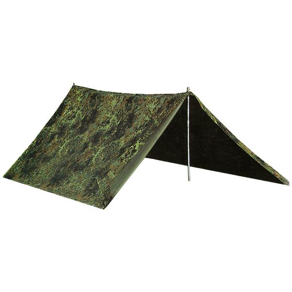 "Bundeswehr ""German Army"" Two Man Tent Used flecktarn"