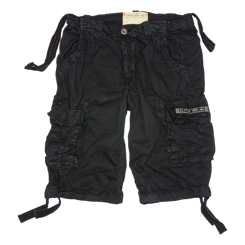 Shorts Alpha Industries Jet black