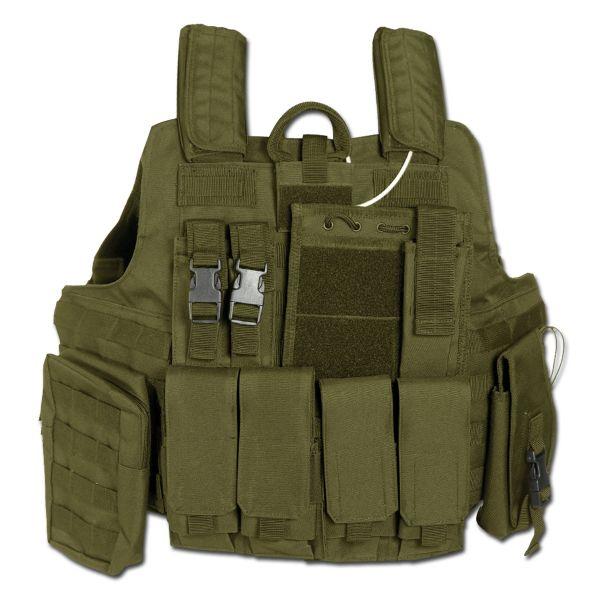 Combat Vest Quick Release, olive