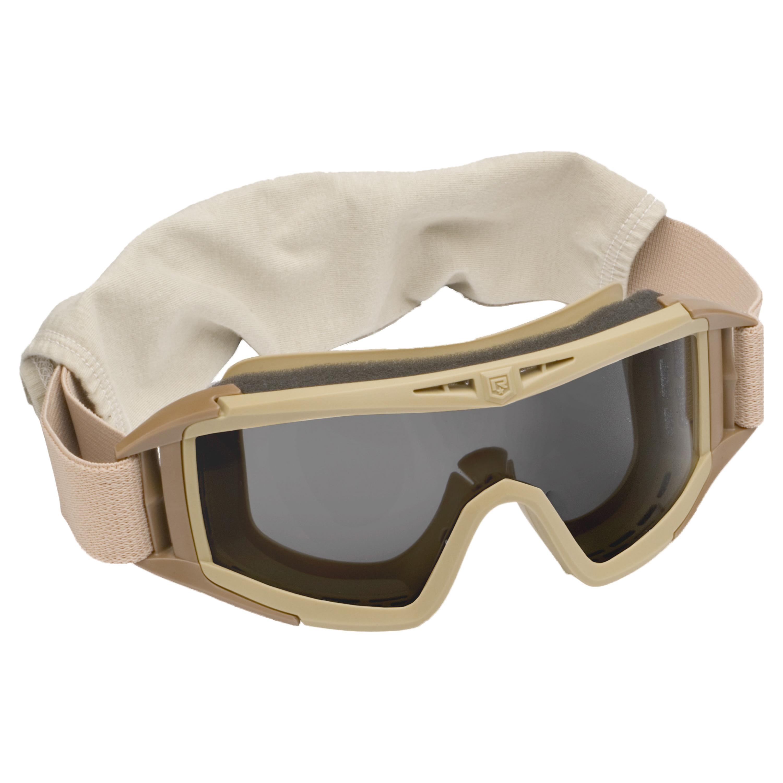 Revision Desert Locust Basic Goggles tan/smoke lens