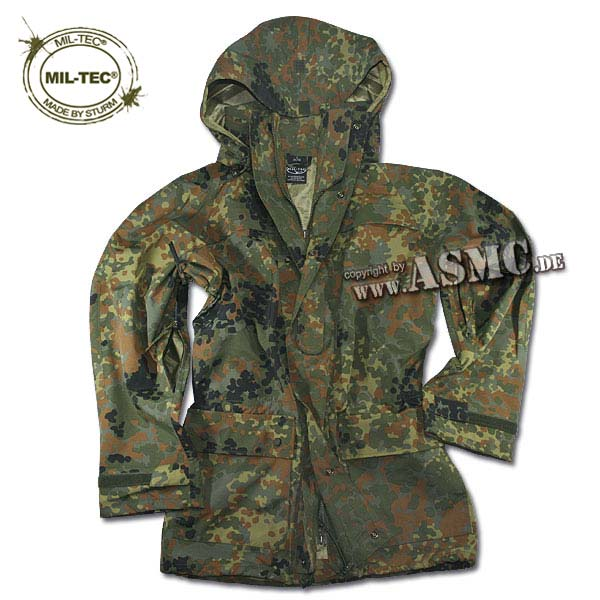 Wet Weather Parka Teesar flecktarn