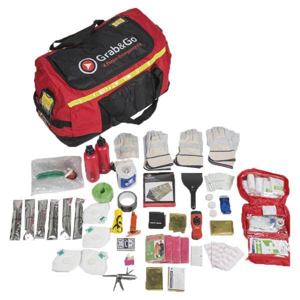 Grab&Go Emergency Kit 4 Person