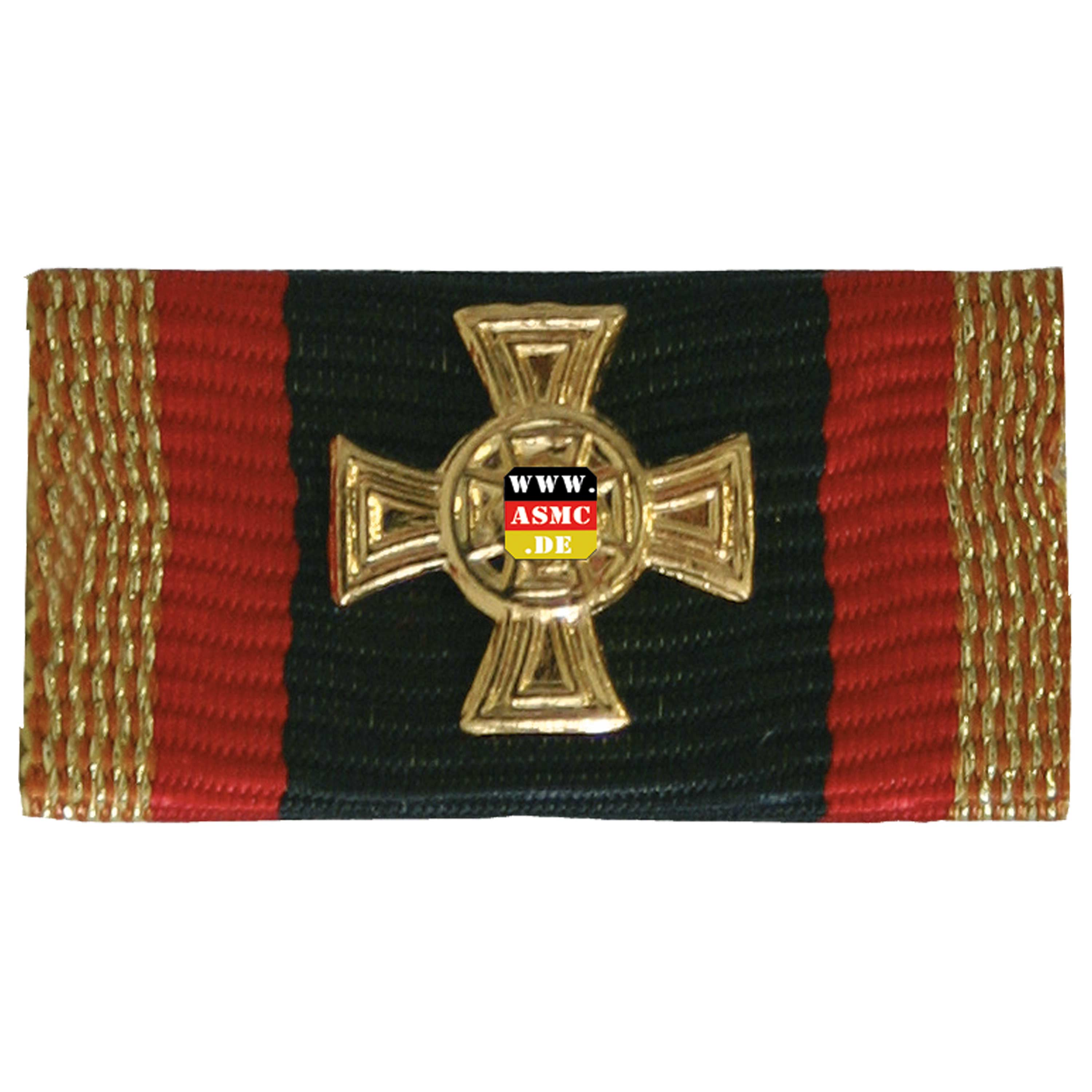 Purchase The Award Ribbon Bundeswehr Cross Of Honor Gold