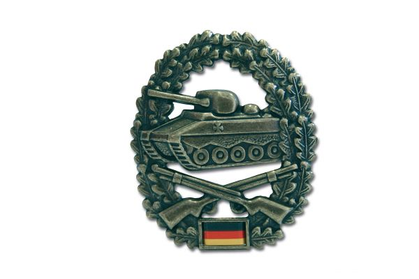 German Armed Forces beret insignia Panzergrenadier