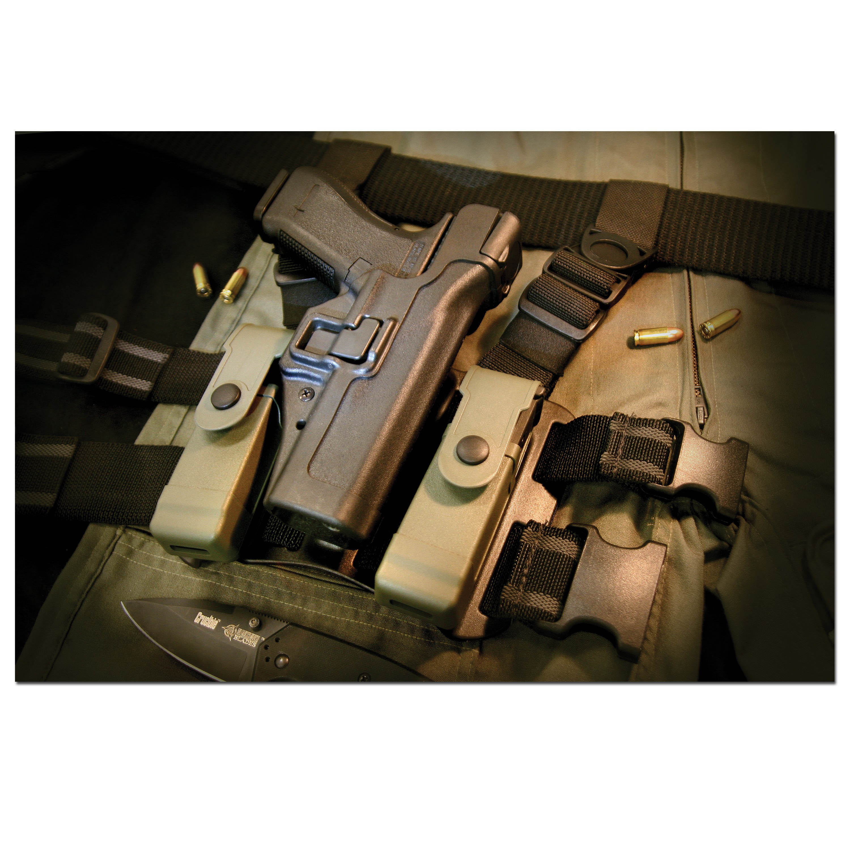 Blackhawk SERPA Holster H&K P8/USP RH black