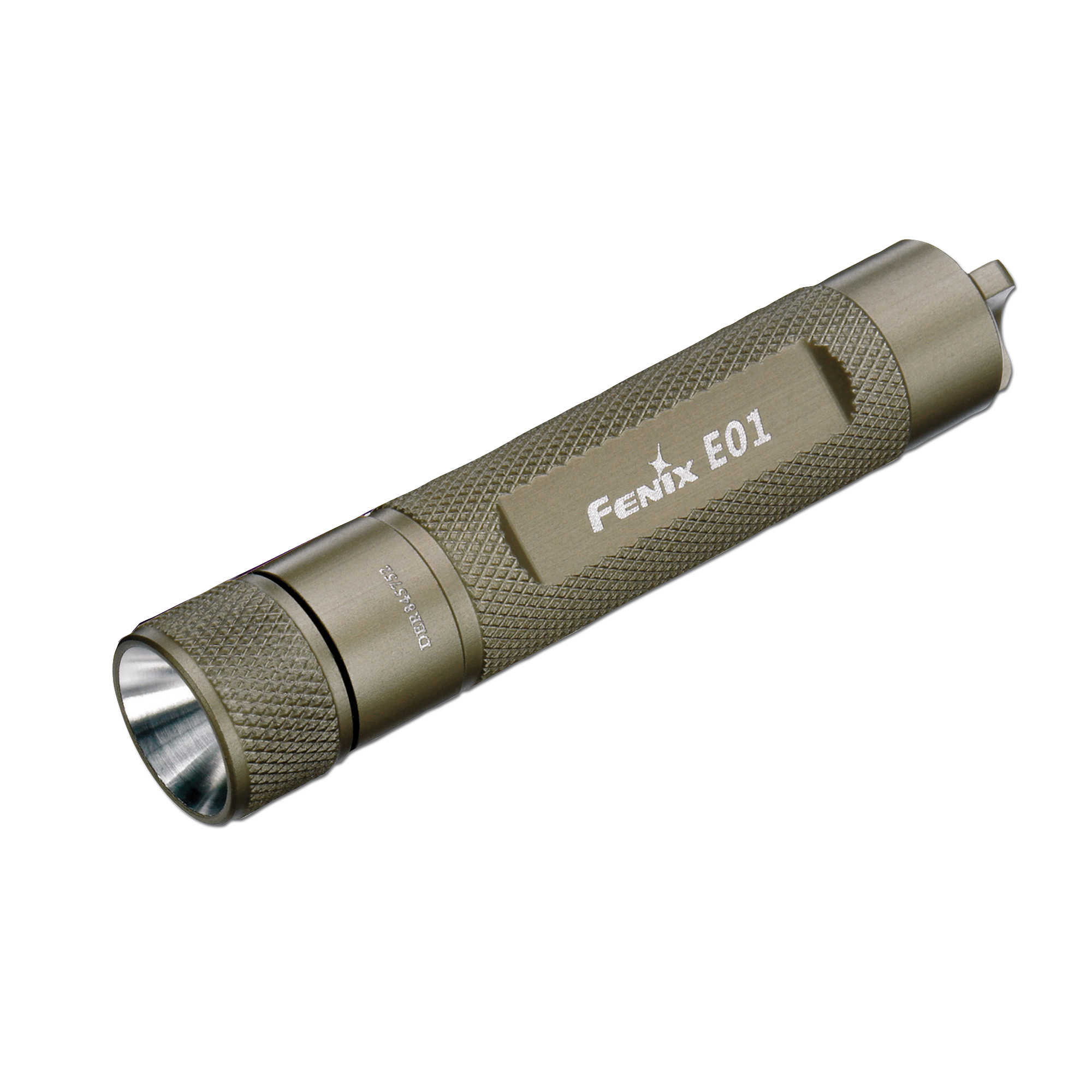 Flashlight Fenix E01 LED gray