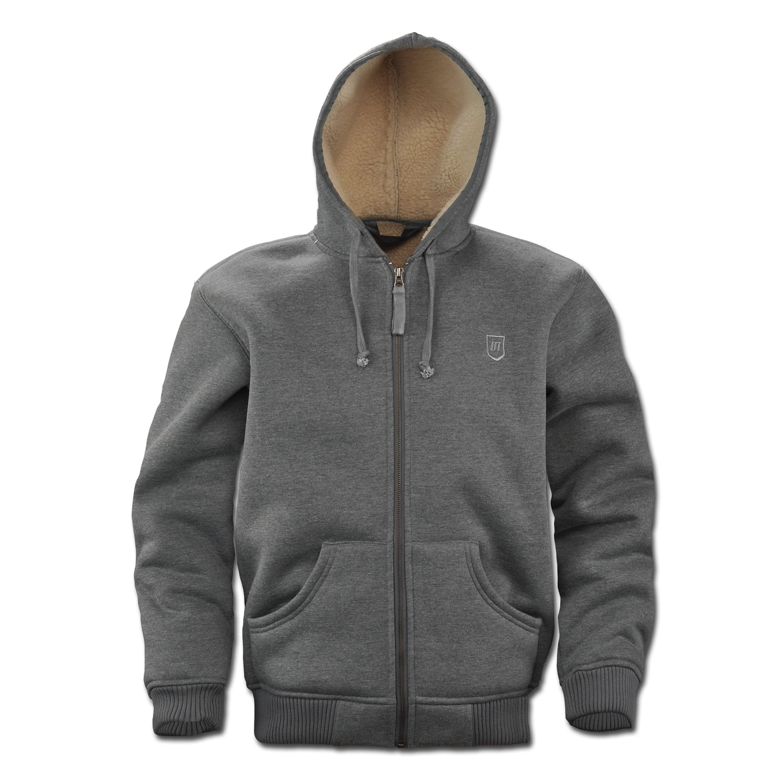Sweat Jacket Vintage Industries Freeport gray