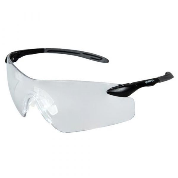 Pyramex Shooting Glasses Intrepid II Clear Glasses black