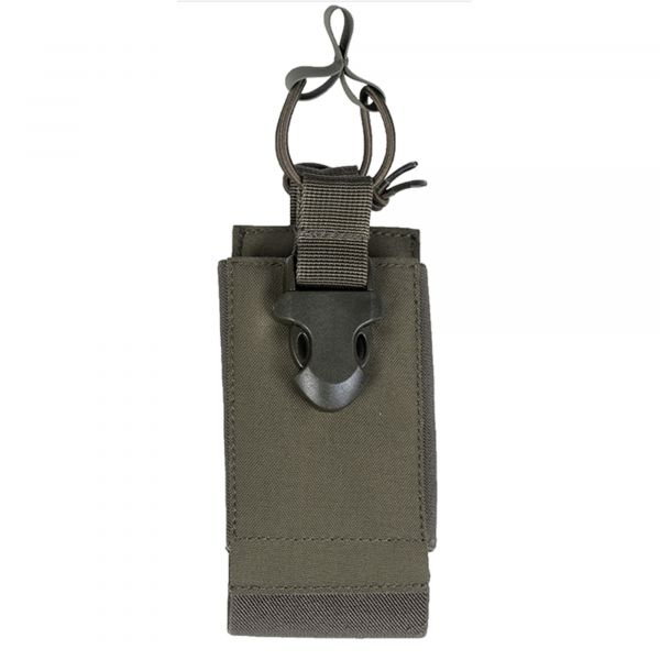Mil-Tec Radio Pouch with Velcro Backing olive