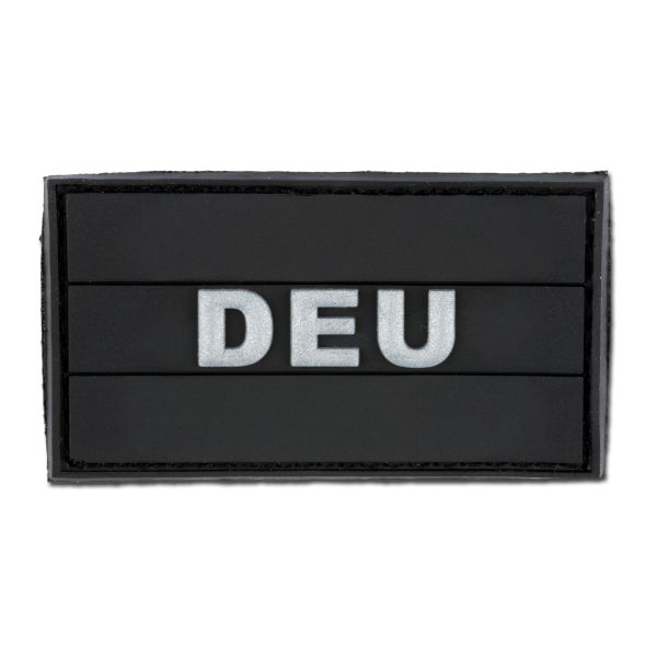 3D-Patch DEU black