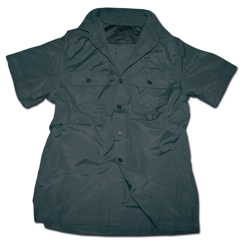 Outdoor Shirt Short Sleeve black