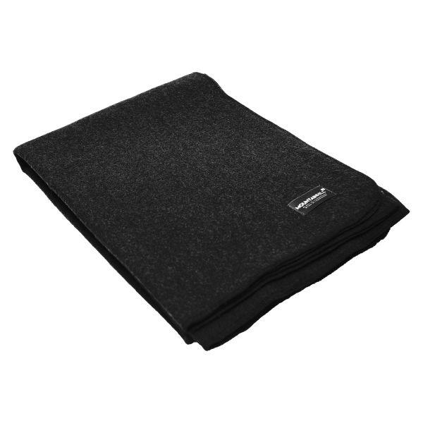 Wool Blanket 150 x 225 cm steel gray