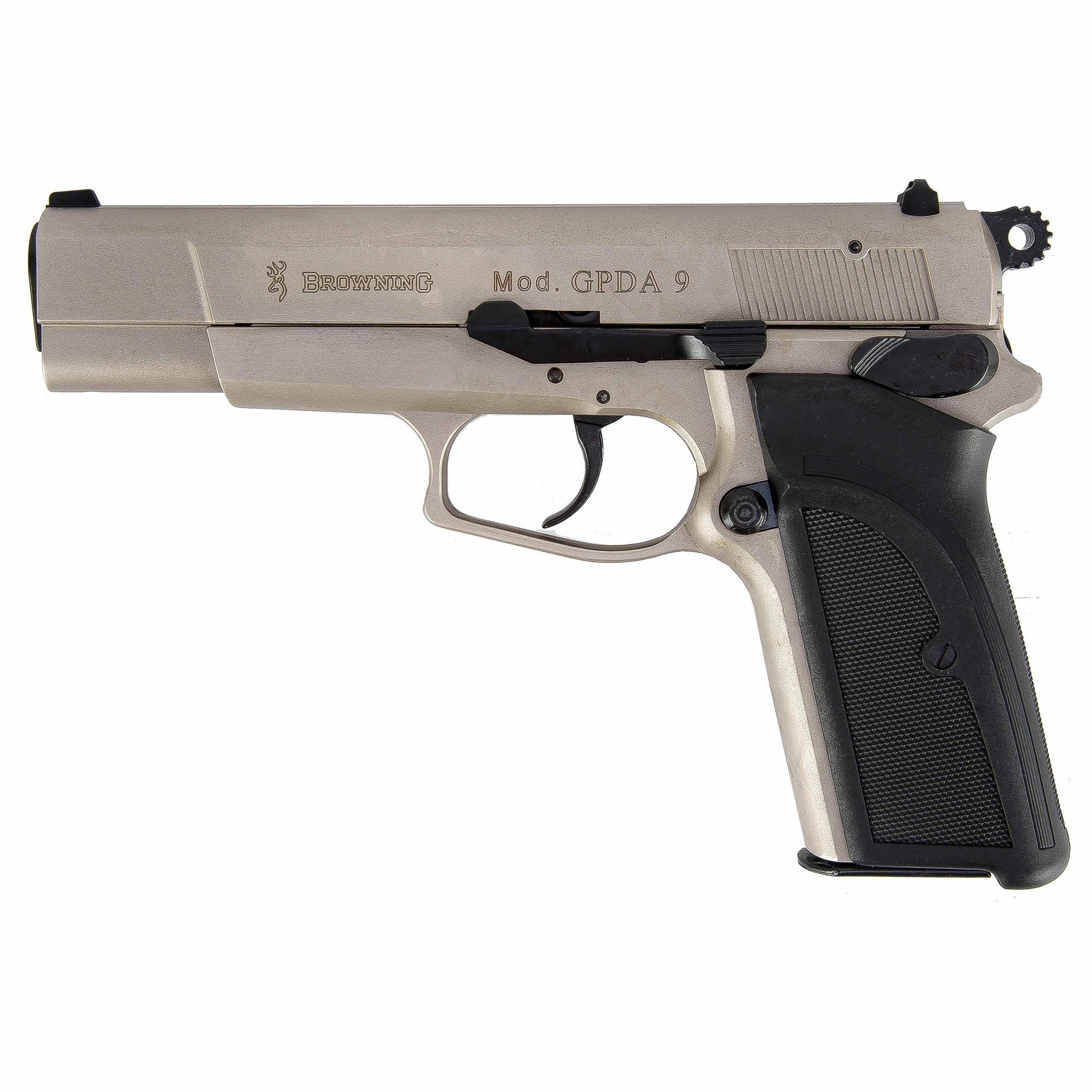 Pistole Browning GPDA9 nickel plated
