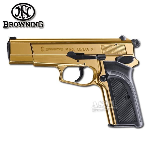 Pistol Browning GPDA9 gold