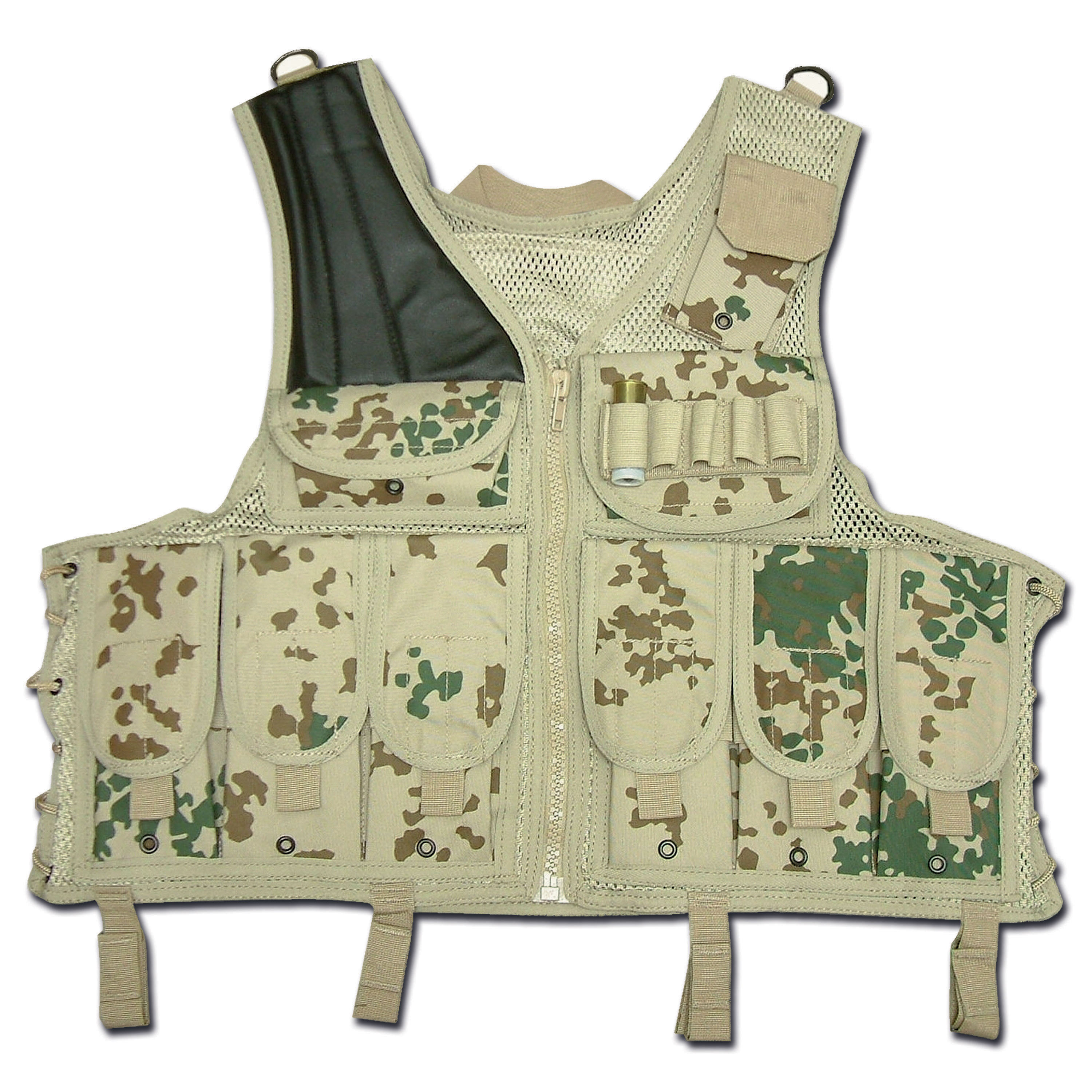 Tactical Vest Import fleckdesert