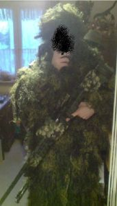 Ghillie am Mann