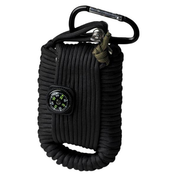 Paracord Survival Kit Large black