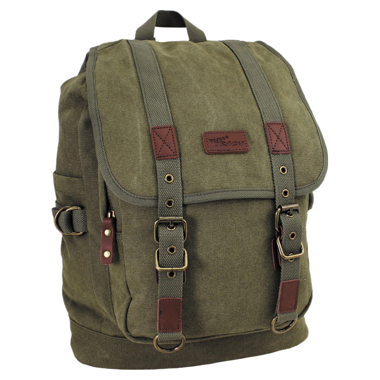 Pure Trash Backpack Canvas olive