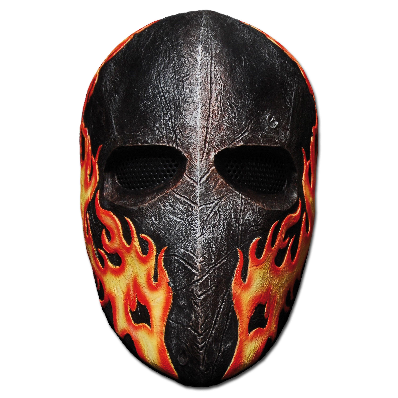 Protective Face Mask Flames Elliot Salem