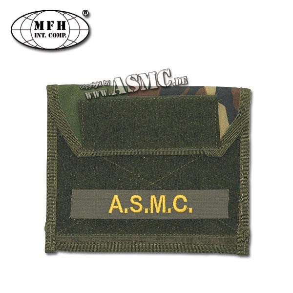 Chest Pouch Molle MFH woodland