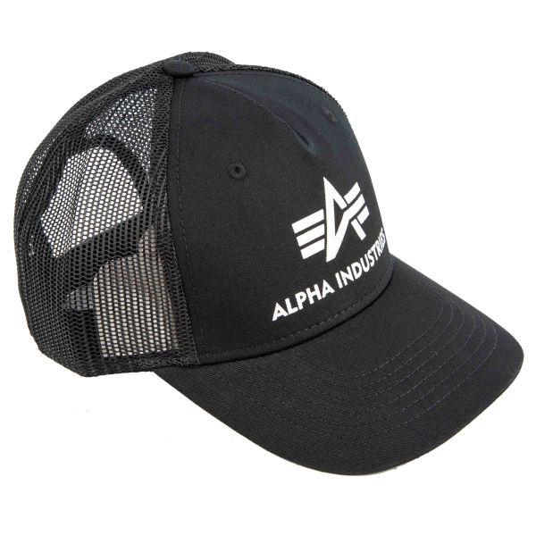Alpha Industries Baseball Cap Basic Trucker black