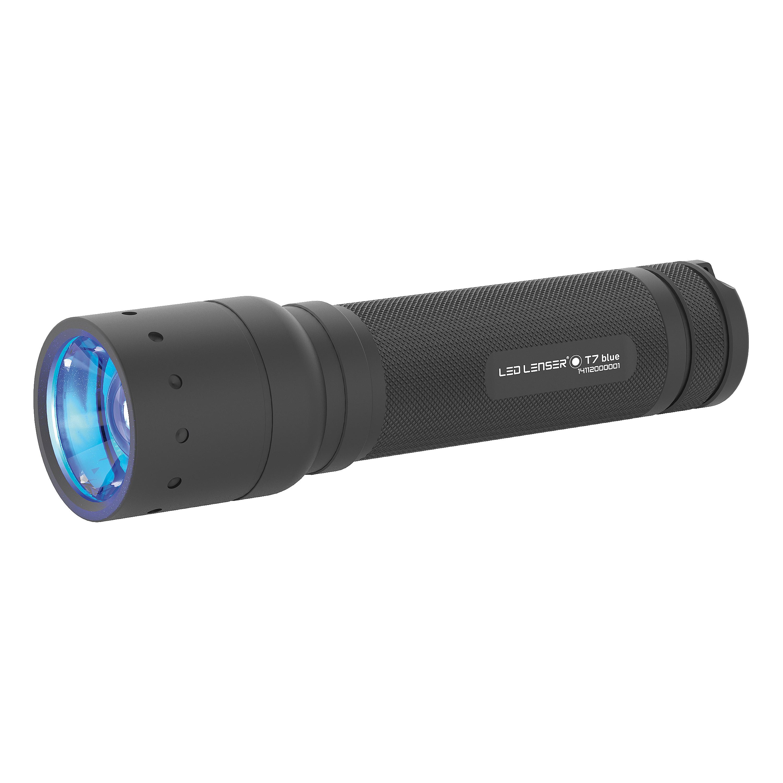 LED Lenser Flashlight T7.2 blue