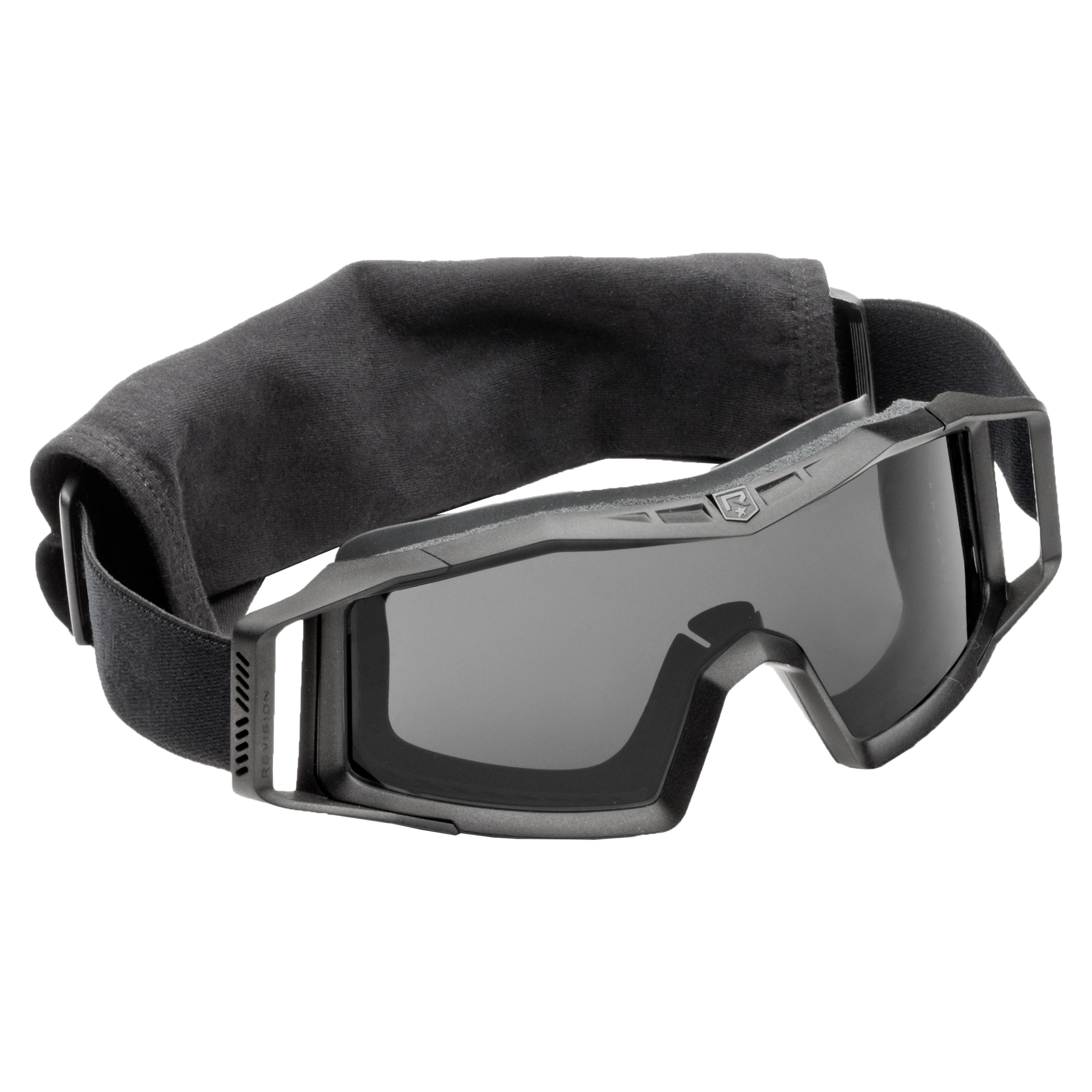 Revision Goggles Wolfspider Basic black/smoke lens