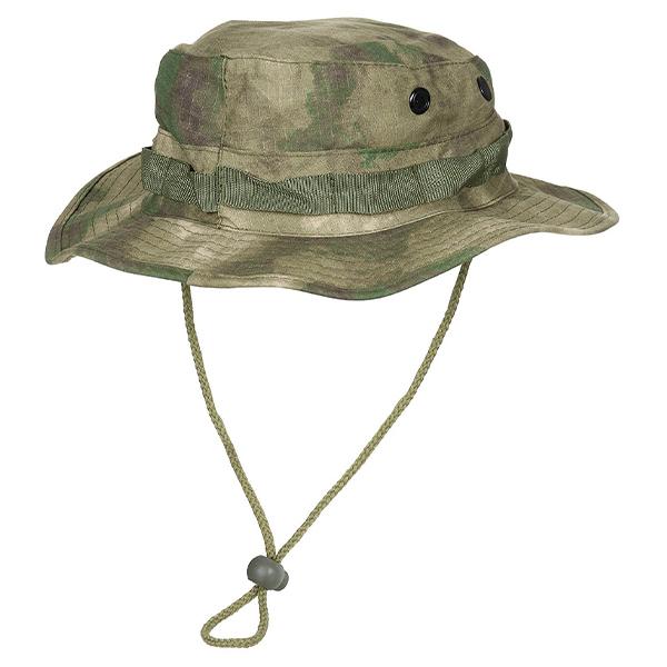 U.S. GI Bush Hat with Chin Strap HDT-camo FG