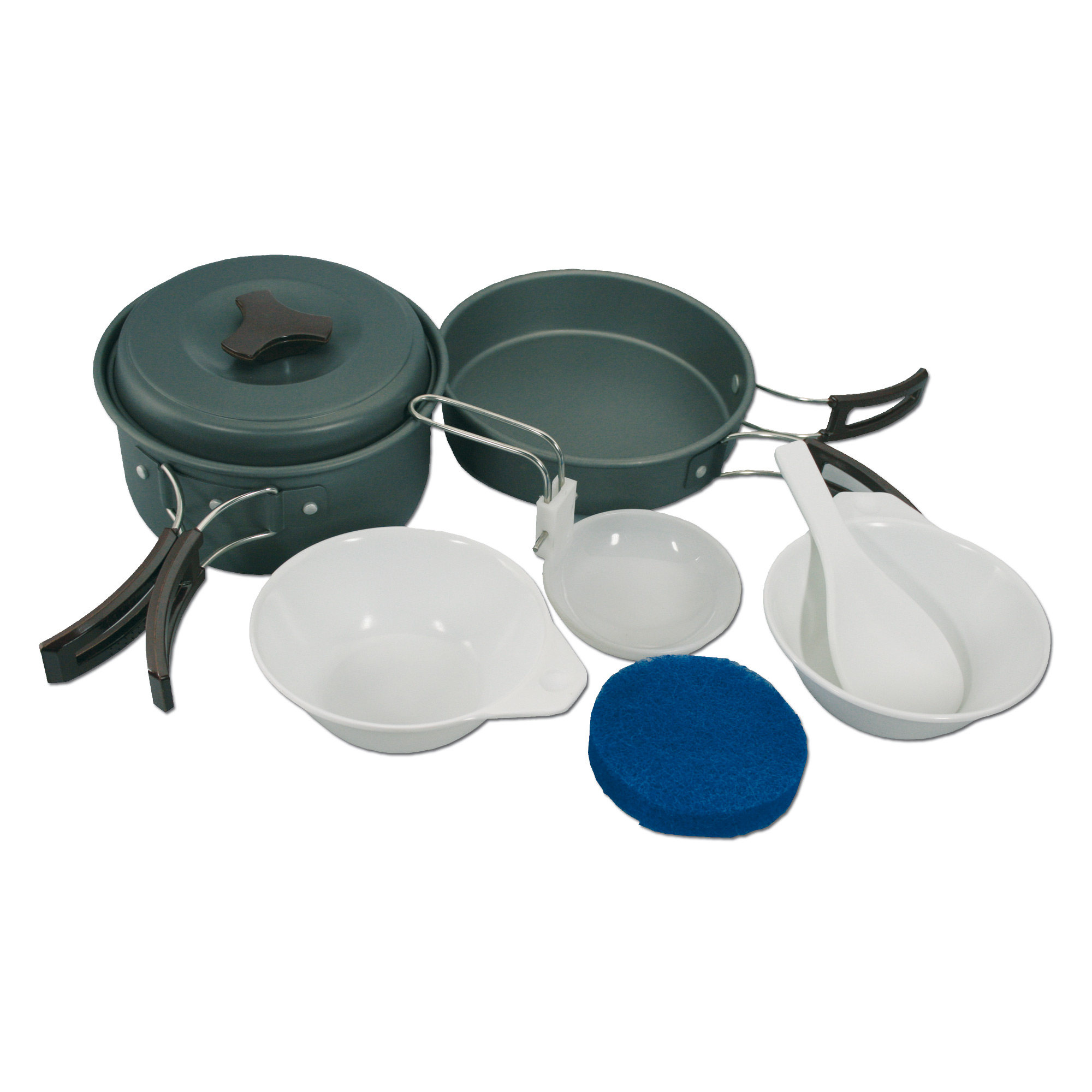 Cook Set Mil-Tec 2-persons alu anodized