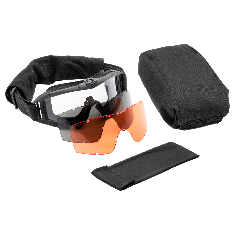 Revision Goggles Asian Locust Fan Deluxe black/orange lens