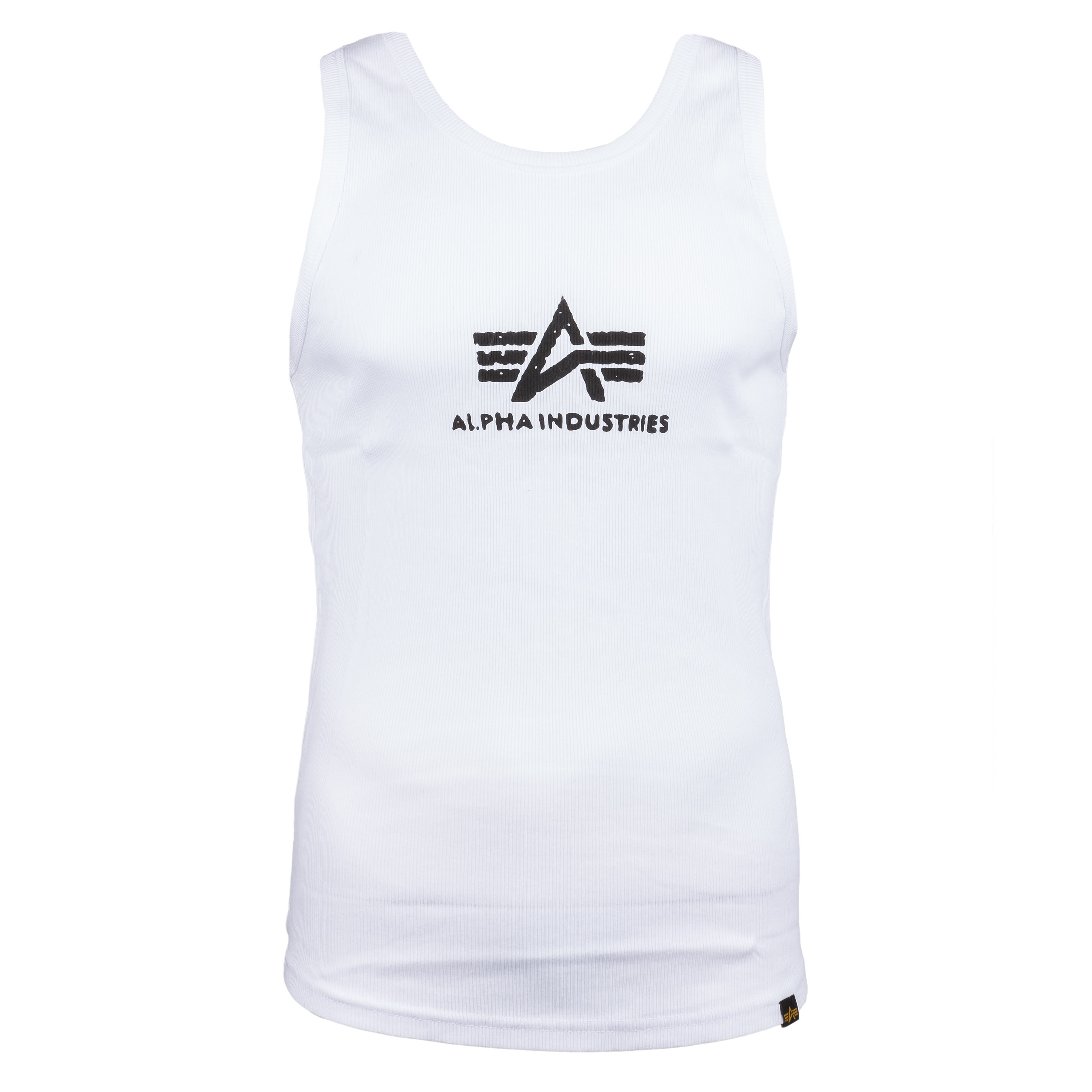 Alpha Industries Tank Top Logo white