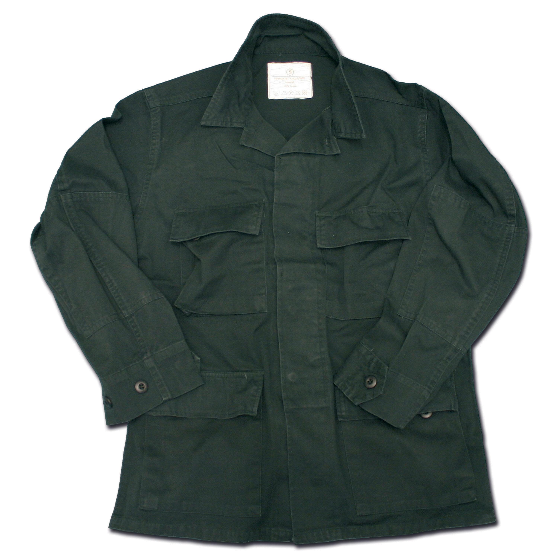 Shirt BDU Style black washed